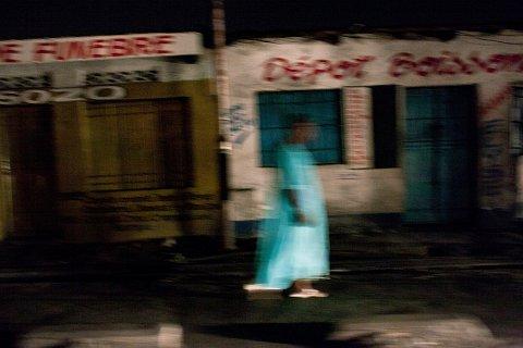 Avenue du 24 Novembre. Kinshasa.