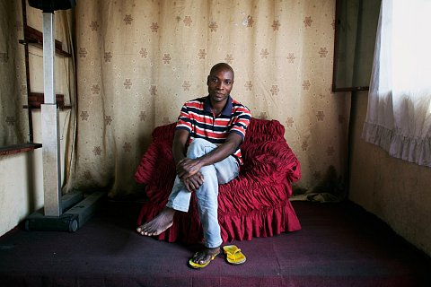 """Jean-Paul Clement of Studio """"Amis Photo."""" Kinshasa."""