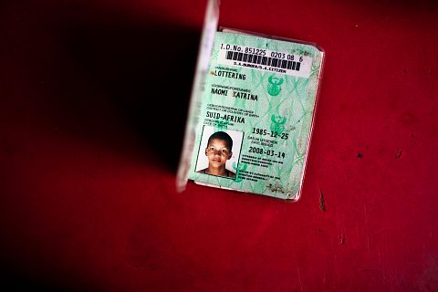 National ID cards were introduced to South Africa by The Population Registration Act of 1950, which required that every South African be classified and registered in accordance with his or her racial characteristics. <br>Manenberg, June 2012.