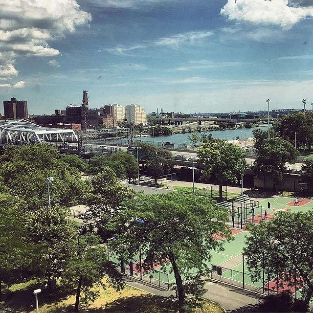 View from a Harlem window. #harlem #newyork #usa #urban #window #summer