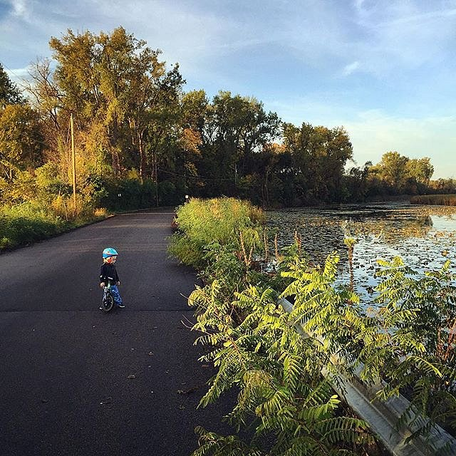 #morning is my muse. #errol #family #minnesota #midwest #usa #bikeride #lakeminnetonka