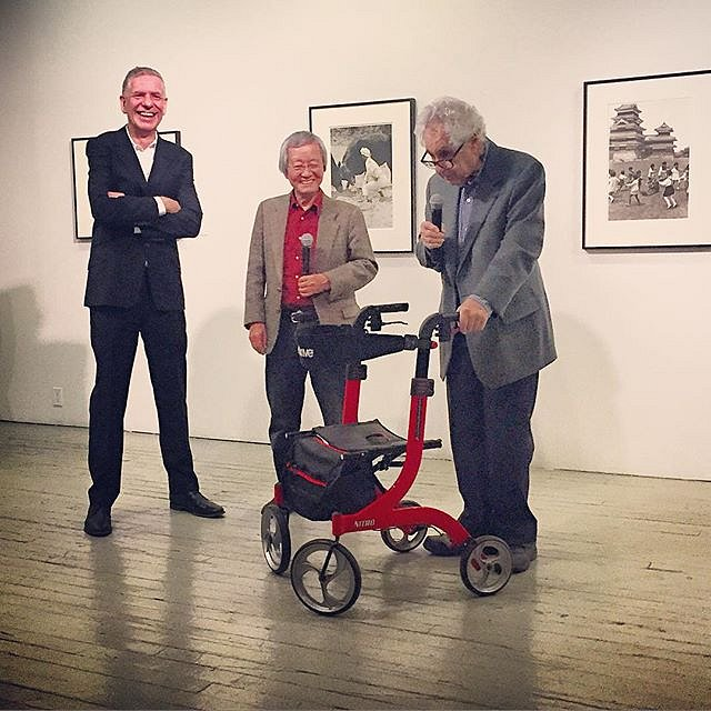 Beautiful photos and opening @aperturenyc last night. A huge bonus to hear Chris Boot & Elliott Erwitt & Hiroji Kubota in conversation! #photography #newyork #usa #manhattan #magnum #legends #ilovephotography
