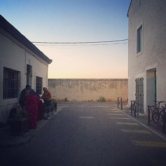 #arles #france #rencontresarles #road #wall #evening