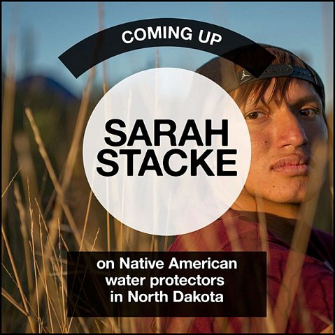 """on Native American water protectors in North Dakota"" <br> Photographs published February 30-January 5, 2017. <br>  <a href=""https://www.instagram.com/explore/tags/becomingawaterprotector/"">View Takeover</a>"