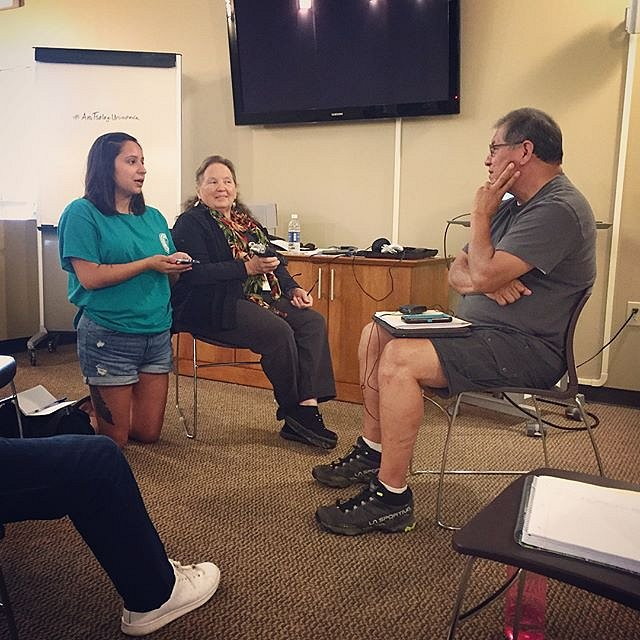 A few more from the first of three documentary workshops I'm co-teaching with Barbara Duncan @cherokee_museum. This team is cooking up something special to share with their community and beyond. #anitsalagiuninoheda #cherokee #northcarolina #twentyfirstce