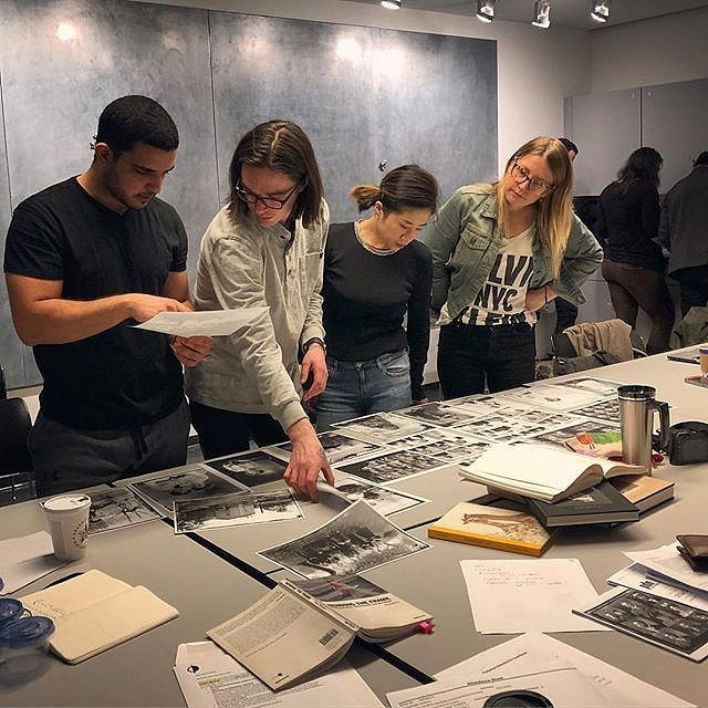 @garethsmit and I had a blast teaching Old Media, New Media: Archives and the Documentarian @icpschool this weekend. Big thanks to the students for their thoughtfulness and hard work. #icp #archives #teachingphotography #newyork #powerofarchives