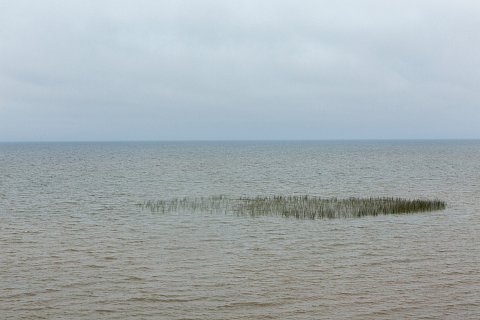 Red Lake is located in northern Minnesota and at 440 square miles is the largest lake in the state. The lake is divided into Upper Red Lake and Lower Red Lake by a peninsula. Lower Red Lake is situated entirely within the Red Lake Indian Reservation. <br>September 13, 2017.