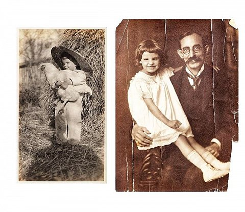 Image 1: A photograph Hugh took of his daughter, Elizabeth, with his shadow visible in the frame. Image courtesy of and copyright Martha Sumler. Image 2: Hugh and Elizabeth not long before Hugh died of the flu in 1922. Image courtesy of and copyright Martha Sumler. Image 3: Elizabeth was six years old when her father died; she carried his legacy into the present by preserving his photographs and through the way she lived with an open door and heart. Image courtesy of and copyright Martha Sumler. Image 4: Martha Sumler, 2018. Image copyright Sarah Stacke. Photos Day or Night: The Archive of Hugh Mangum, by Sarah Stacke with texts by Maurice Wallace and Martha Sumler, is published by @redhookeditions. Designed by @bonniebriant. Link in bio. #hughmangumphoto #hughmangum #americansouth #fathersday #photosdayornight #family #legacy #photohistory