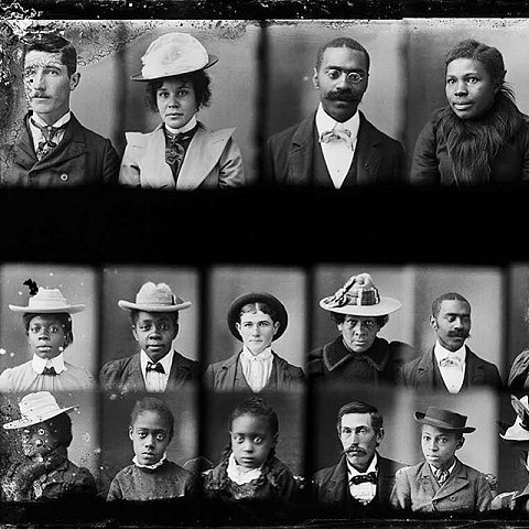 """After all, being seen is what begins a revolution. The image above is from """"Photos Day or Night: The Archive of Hugh Mangum,"""" edited by Sarah Stacke with texts by Maurice Wallace and Martha Sumler. Published by Red Hook Editions. Link in bio. Image courtesy of Sarah Stacke and Hugh Mangum Photographs, Duke University.  @redhookeditions  #hughmangumphoto #hughmangum #photosdayornight  #americansouth #doubleexposures #blackhistory #reconstruction #redemption #lifewithoutlimits"""