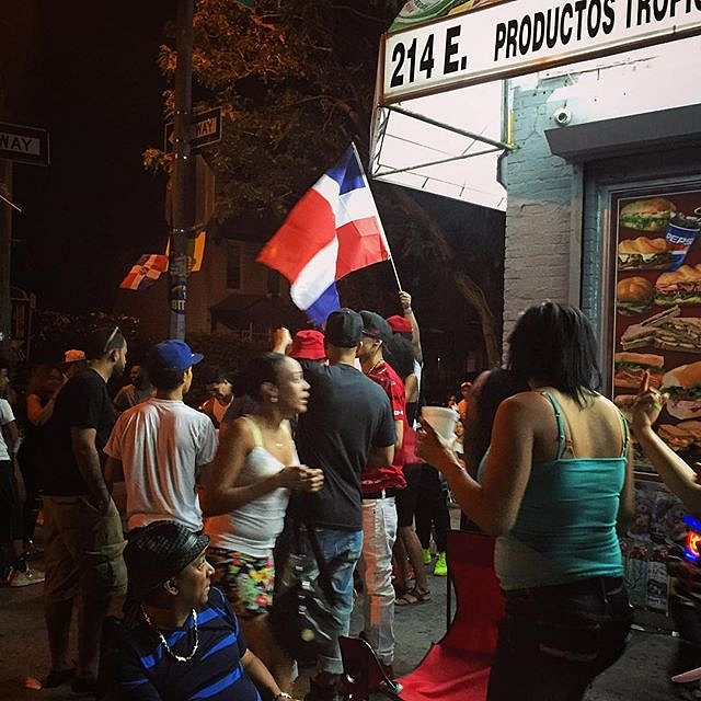 Block Party in the #bronx. #newyork #usa #blockparty #weekend #summer