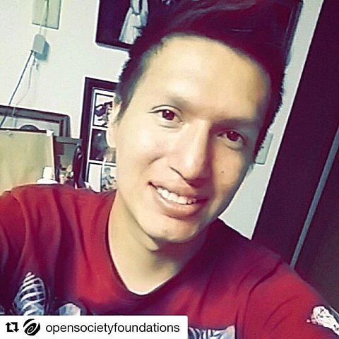 "Danny Grassrope has an infectious smile and can take a mean selfie. He also knows how to harness the power of social media as a tool to mobilize, organize, and foster encouragement. Through social media, Water Protectors have drawn indigenous youth and elders from across the country to Standing Rock –– and have captured the attention of an international audience. . One of Grassrope's favorite quotes –– and the one he uses on his Facebook intro –– is by Dr. Seuss: ""Unless Someone Like You Cares A Whole Awful Lot Nothing Is Gonna Get Better It's Not."" . Grassrope made the above photo on July 5, 2016, shortly before participating in a 2,000-mile relay race to Washington, D.C. The race, documented and shared on Twitter, YouTube, Facebook, and Instagram, was a key event in raising awareness of the #NoDAPL movement. . This is @sarah_stacke sharing a story about Danny Grassrope @4grassrope4 and his fellow Water Protectors. . #opensociety #humanrights #documentary #photojournalism #NoDAPL #DannyGrassrope #IIYC #nativeamerican #landrights #usa #standwithstandingrock #northdakota #keystonexl #dapl #becomingawaterprotector #mniwiconi"